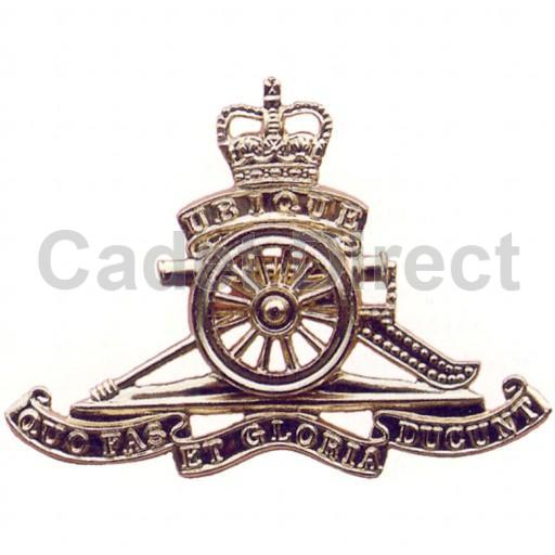 Royal Artillery Or Cappeak Badge Ebay