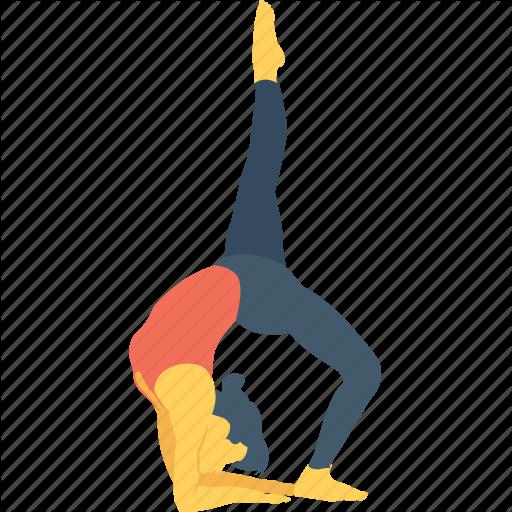 Asana, Exercise, Feded, Fitness, Yoga Icon