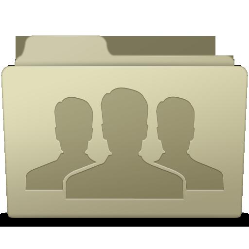 Group Folder Ash Icon Smooth Leopard Iconset Mcdo Design
