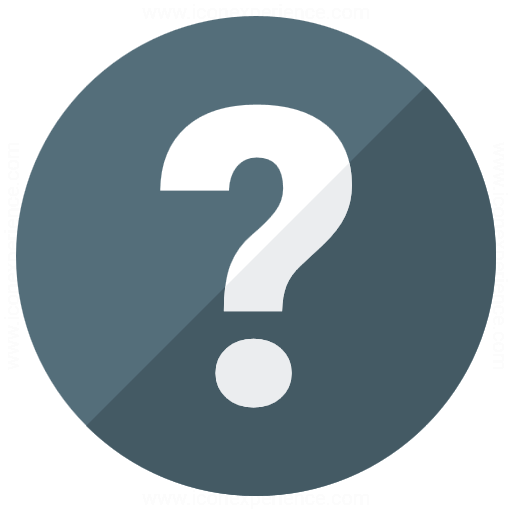 Iconexperience G Collection Question Icon