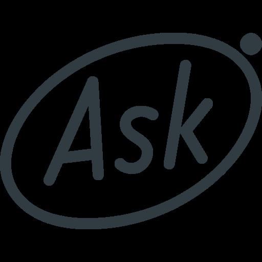 Ask Icon Logo Image