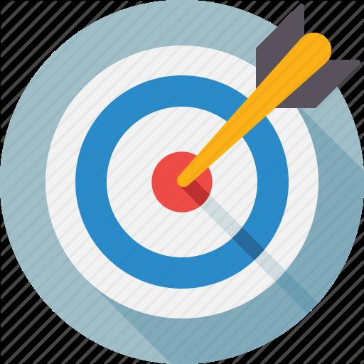 Ambition, Archery, Aspiration, Darts, Segment, Strategy Icon