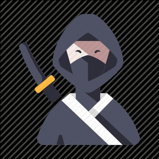 Assassin, Character, Japan, Japanese, Mask, Ninja, Warrior Icon