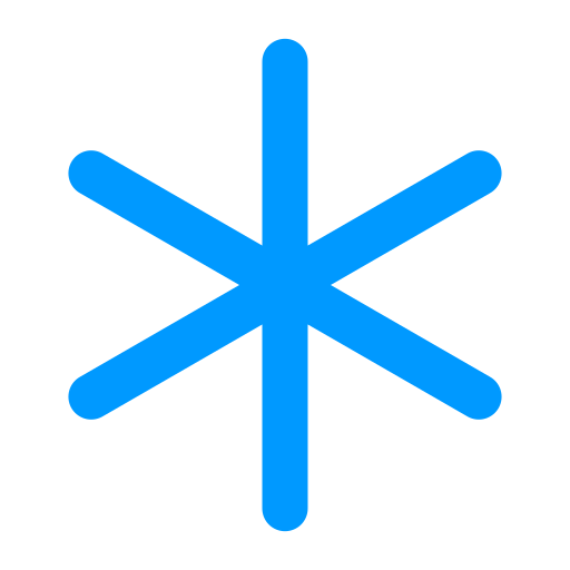 Asterisk, Linear Icon Free Of Snipicons Linear
