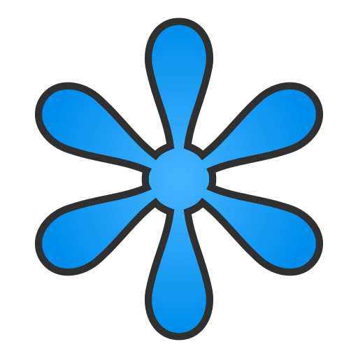 Asterisk, Regular Icon Free Of Snipicons Regular