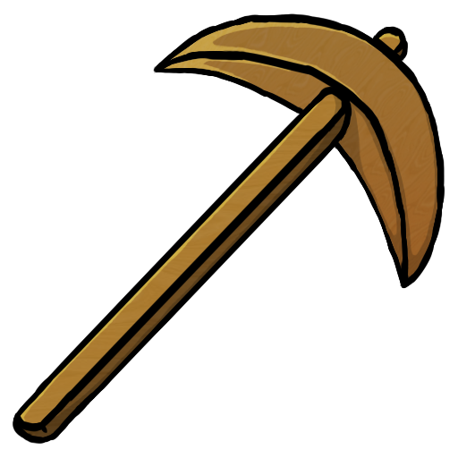 Wooden Pickaxe Icon