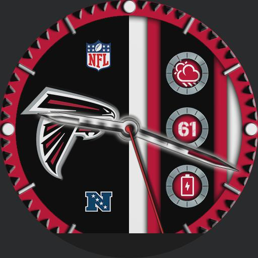 Atlanta Falcons For Moto