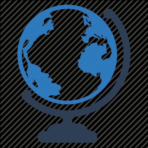 Atlas, Global, Globe, Map, World Icon