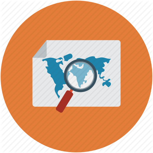 Atlas, Holidays, Maps, Places Icon