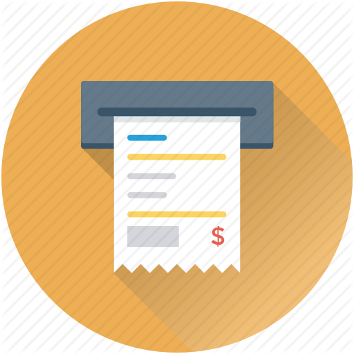 Atm Slip, Atm Withdrawal, Banking, Cash Withdrawal, Transaction Icon