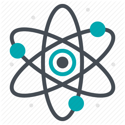 Atom, Laboratory, Research, Science, Study Icon