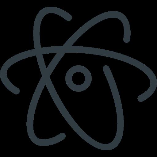 Atom, Logo, Media, Social Icon