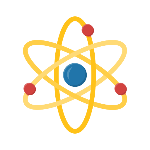 Atom, Molecule Icon Free Of Education