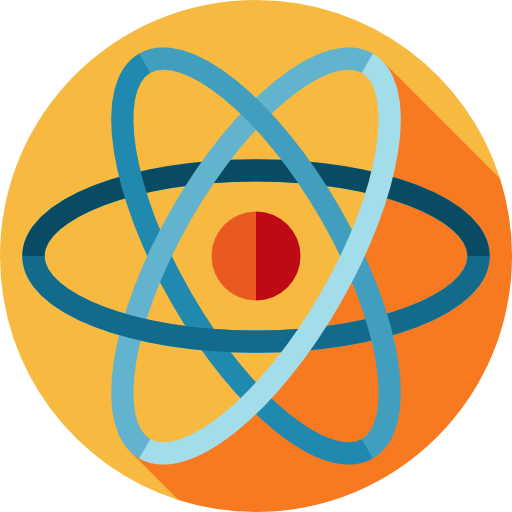 Electron, Physics, Education, Science, Atom, Nuclear, Atomic Icon