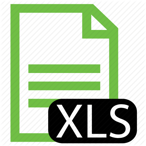 Excel Spreadsheet Icon File, Type, Xls Icon