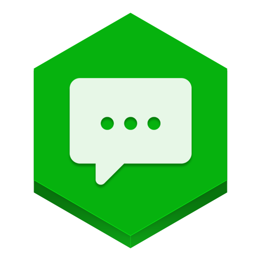 Messages Icon Hex Iconset