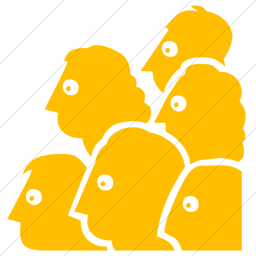 Simple Yellow Classica Audience Icon