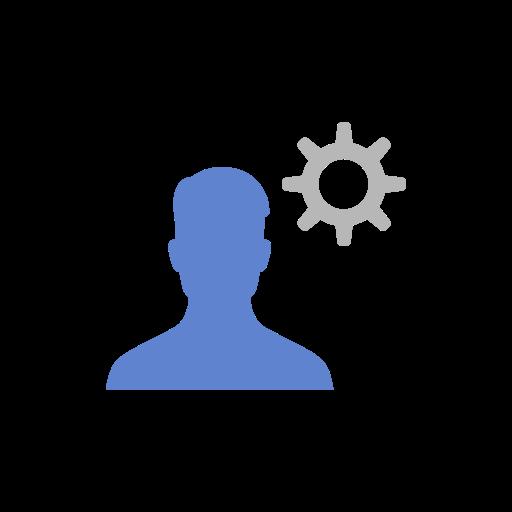 Settings, Edit Profile, Friend Request, Edit Audience Icon