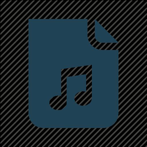 Audio, Developer, Document, File, Music, Musics File, Sound Icon