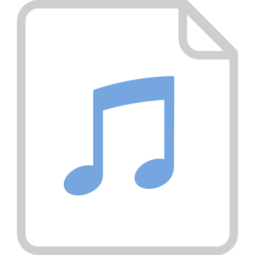 Audio File, Audio File, Extension Icon With Png And Vector