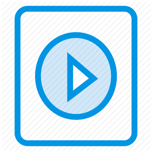 Audio, Film, Movie, Play, Playlist, Video Icon
