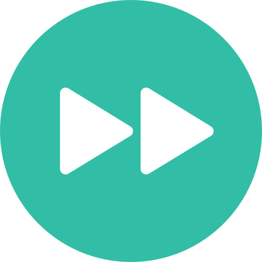 Audio And Video Controls Lightseagreen Icon