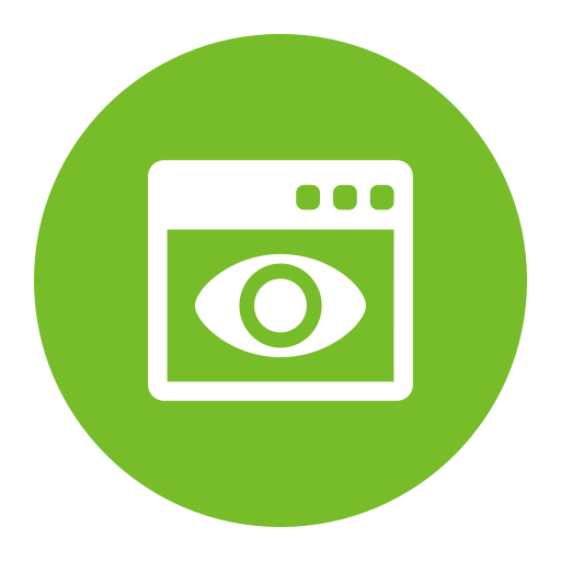 Visual, Fill, Data Visual Icon With Png And Vector Format For Free