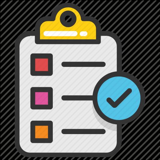 Audit, Checklist, List, Schedule, Survey Icon