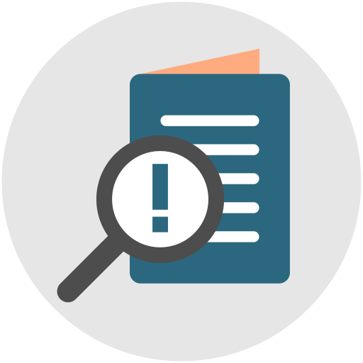 Research, Testing, Test, Audit, Report, Exam, Survey Icon