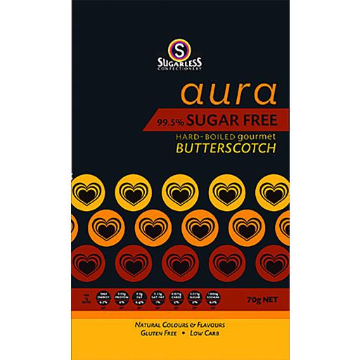 Sugarless Confectionery Aura Sugar Free Butterscotch