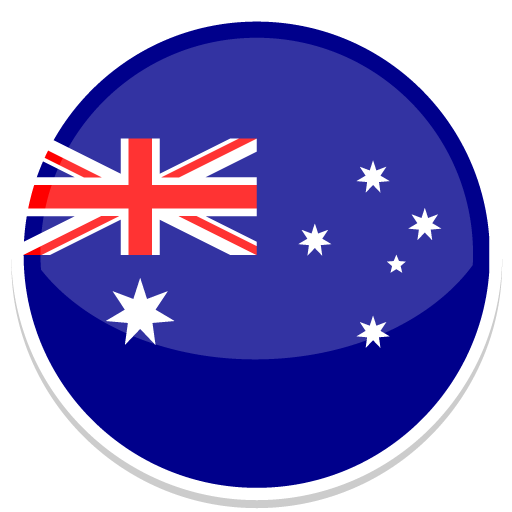 Australia Icon Round World Flags Iconset Custom Icon Design