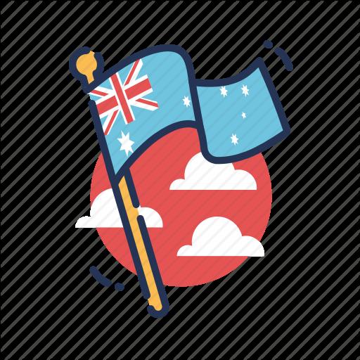 Aus, Aussie, Australia, Australia Day, Australian, Country, Flag Icon