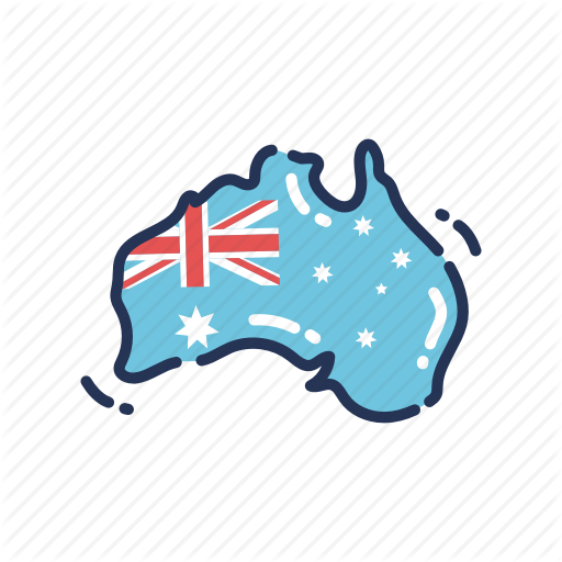 Aus, Aussie, Australia, Australia Day, Australian, Country, Map Icon