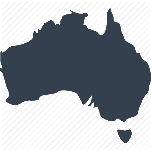 Australia, Australian, Continent, Geography, Location, Map, World Icon