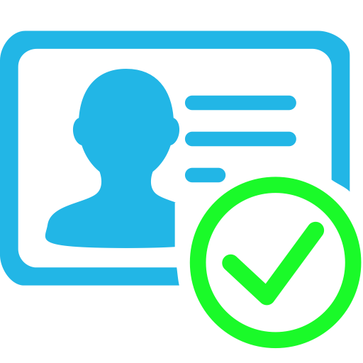 Real Name Authentication, Authentication, Award Icon With Png