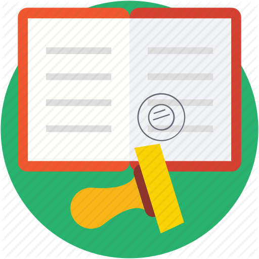 Attestation, Authorization, Letter St St Stamp Tool Icon