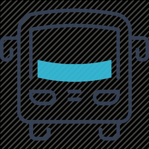 Auto, Bus, Service Icon
