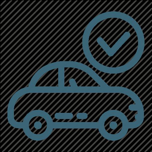 Auto, Car, Check, Garage, Mechanic, Service, Vehicle Icon