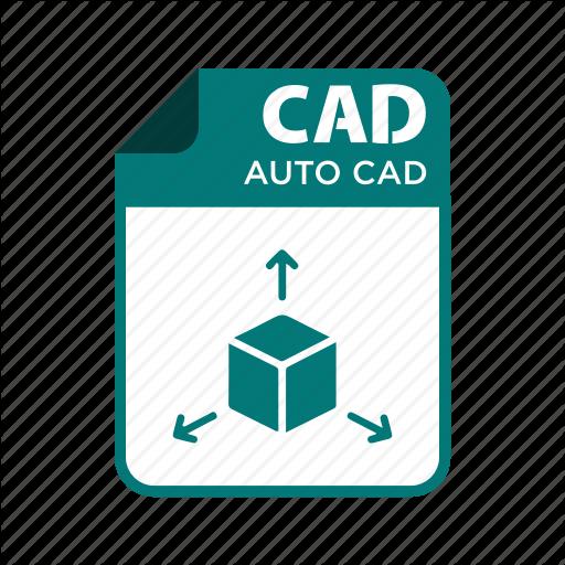 Autocad, Cad, File, Types Icon
