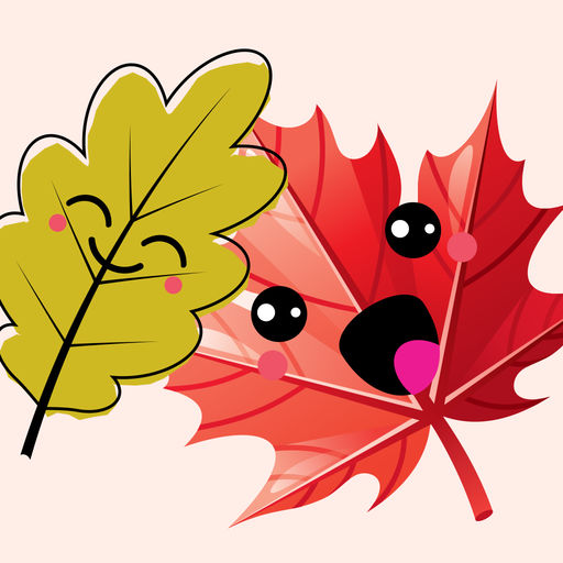 The Autumn Leaves Stickers