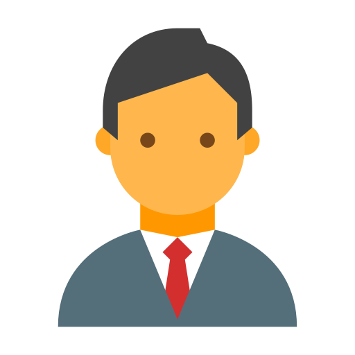 Avatar, Businessman, Male, Man, Person, Profile, User Icon Pop Art