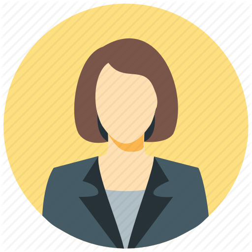 Avatar, Business Woman, Circle, Female, Human, User, Woman Icon