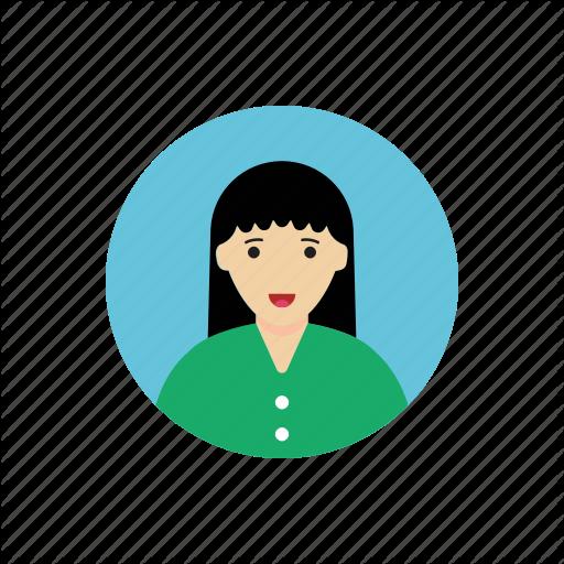 Avatar, Female, Girl, Portrait, Student, Woman Icon