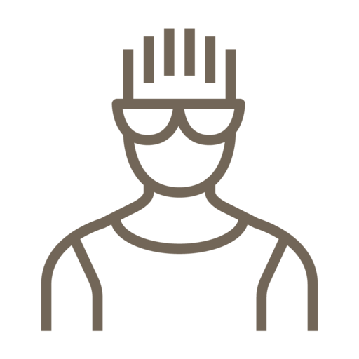 Male, Avatar, People, User, Glasses, Man, Boy Icon Free Of Line