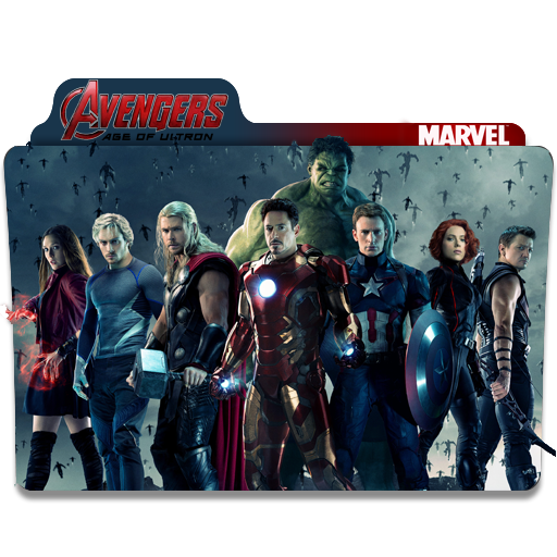 Avengers Age Of Ultron Folder Icons