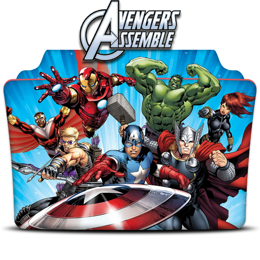 Avengers Assemble Vol Folder Icon