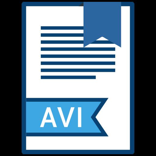 , Extension, Avi, Filetype Icon Free Of Extension Names Vol