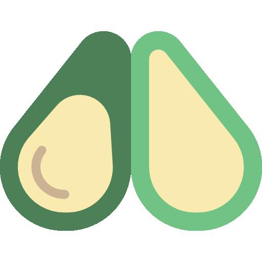 Avocado Icon Gastronomy Smashicons