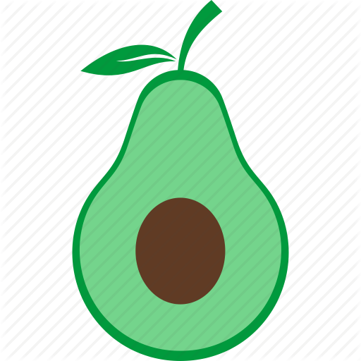 Avocado, Food, Fruit, Green Icon