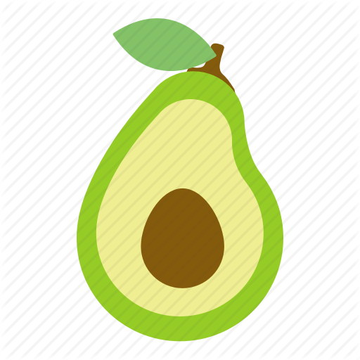 Avocado, Food, Fruit, Health Icon